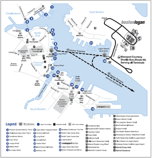 Water Transportation to and from Logan Airport