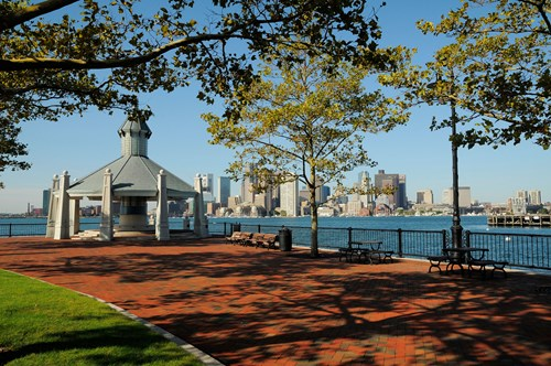 Piers Park and City Skyline